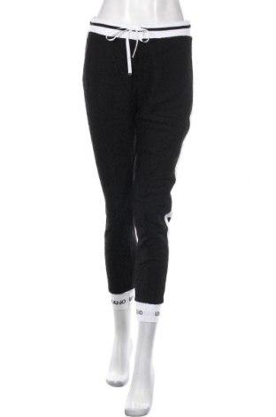 Pantaloni de femei Liu Jo, Mărime S, Culoare Negru, 63% viscoză, 32% poliamidă, 5% elastan, Preț 449,01 Lei