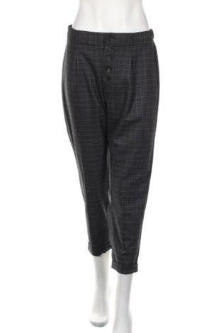 Damskie spodnie Mango, Rozmiar M, Kolor Szary, 64% poliester, 33% wiskoza, 3% elastyna, Cena 76,80zł