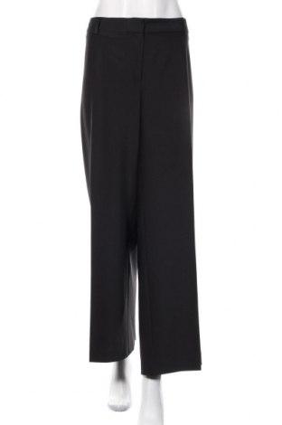 Damskie spodnie Marks & Spencer Autograph, Rozmiar XXL, Kolor Czarny, 87% wełna, 8% poliamid, 5% elastyna, Cena 117,60zł