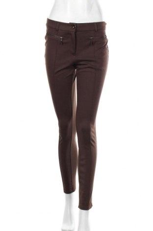 Дамски панталон Montego, Размер S, Цвят Кафяв, 83% полиестер, 13% вискоза, 4% еластан, Цена 23,10лв.