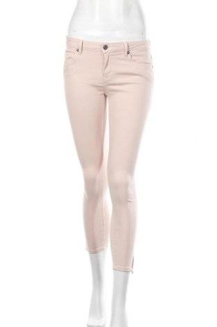 Pantaloni de femei ONLY, Mărime S, Culoare Roz, 71% bumbac, 22% viscoză, 4% poliester, 3% elastan, Preț 86,21 Lei