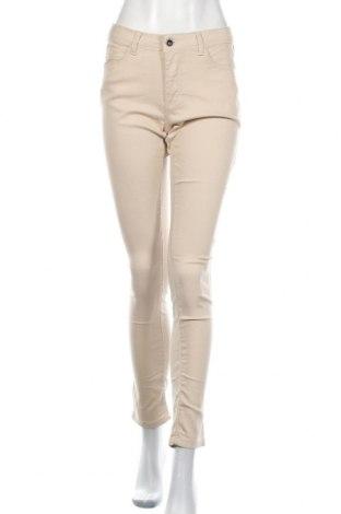 Дамски панталон Ofelia, Размер M, Цвят Бежов, 71% памук, 26% полиестер, 3% еластан, Цена 28,35лв.