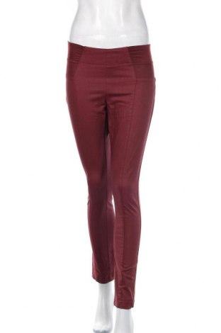 Дамски панталон Ofelia, Размер S, Цвят Червен, 69% памук, 29% полиестер, 2% еластан, Цена 27,30лв.
