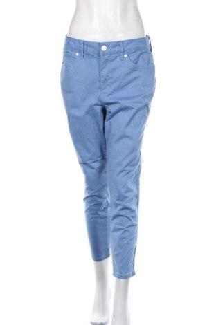 Дамски панталон Seven 7, Размер L, Цвят Син, 72% памук, 25% вискоза, 3% еластан, Цена 25,94лв.