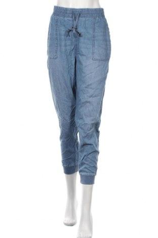 Дамски панталон Seven 7, Размер XL, Цвят Син, 54% памук, 46% лиосел, Цена 39,90лв.