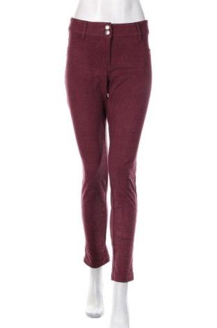 Damskie spodnie Tom Tailor, Rozmiar L, Kolor Czerwony, 86% poliester, 14% elastyna, Cena 110,40zł