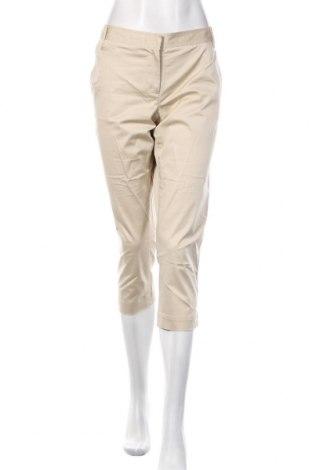 Damskie spodnie Tommy Hilfiger, Rozmiar XL, Kolor Beżowy, 98% bawełna, 2% elastyna, Cena 153,60zł