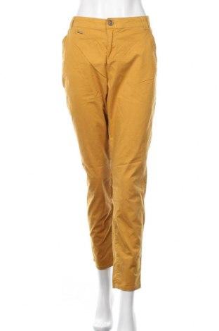 Damskie spodnie Yessica, Rozmiar L, Kolor Żółty, 98% bawełna, 2% elastyna, Cena 78,00zł