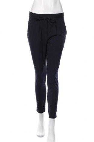 Damskie spodnie Zara, Rozmiar XS, Kolor Niebieski, 65% poliester, 31% wiskoza, 4% elastyna, Cena 84,00zł