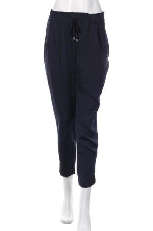Damskie spodnie Zara, Rozmiar M, Kolor Niebieski, Poliester, Cena 86,40zł