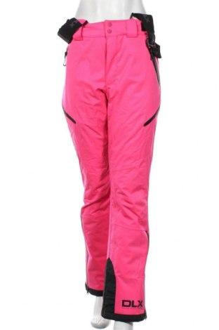 Дамски панталон за зимни спортове DLX by Trespass, Размер M, Цвят Розов, Полиестер, Цена 126,00лв.