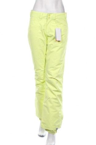 Spodnie damskie do uprawiania sportów zimowych Roxy, Rozmiar S, Kolor Żółty, Poliester, Cena 478,00zł