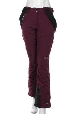 Дамски панталон за зимни спортове Trespass, Размер S, Цвят Лилав, 92% полиестер, 8% еластан, Цена 109,50лв.