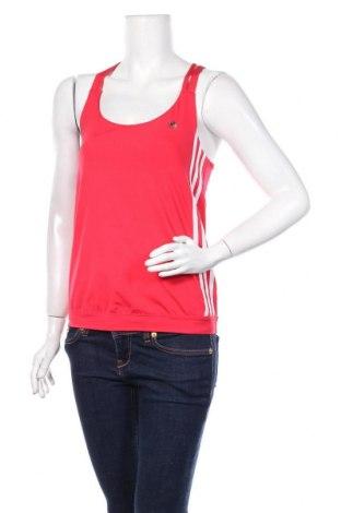 Дамски потник Adidas, Размер M, Цвят Червен, 86% полиамид, 14% еластан, Цена 19,50лв.