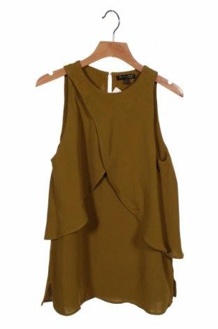 Дамски потник Massimo Dutti, Размер XS, Цвят Зелен, Вискоза, Цена 25,50лв.