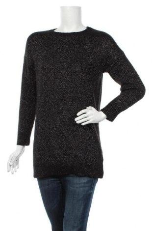 Дамски пуловер, Размер M, Цвят Черен, Цена 28,35лв.