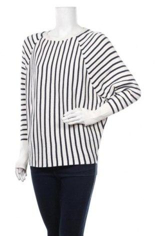 Дамски пуловер Ahlens, Размер M, Цвят Бял, 60% памук, 40% вискоза, Цена 26,25лв.
