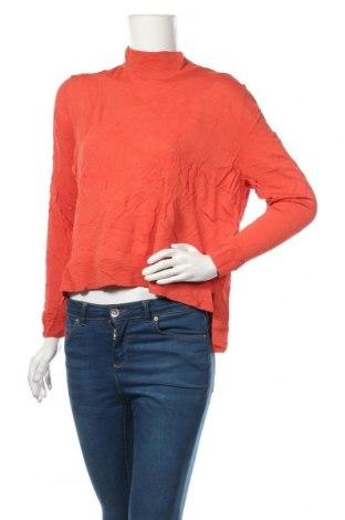 Дамски пуловер Ahlens, Размер M, Цвят Оранжев, Вискоза, Цена 18,90лв.