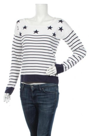 Дамски пуловер Ajc, Размер M, Цвят Бял, 50% полиакрил, 50% памук, Цена 23,10лв.