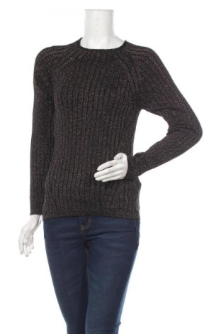 Дамски пуловер Amisu, Размер M, Цвят Златист, 44% вискоза, 35% полиамид, 13% полиестер, 8% метални нишки, Цена 28,35лв.