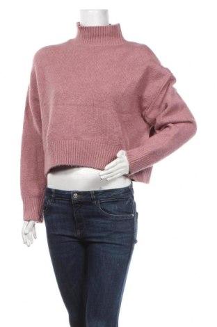 Pulover de femei Even&Odd, Mărime S, Culoare Mov deschis, 68%acril, 28% poliester, 4% elastan, Preț 72,95 Lei