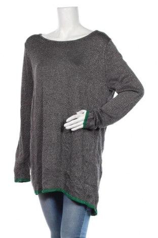 Pulover de femei Generous By Lindex, Mărime XL, Culoare Gri, 85% viscoză, 15% fire din metal, Preț 102,79 Lei