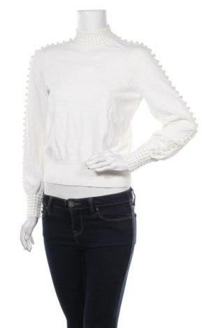 Pulover de femei H&M, Mărime S, Culoare Ecru, 75% viscoză, 25% poliamidă, Preț 102,79 Lei