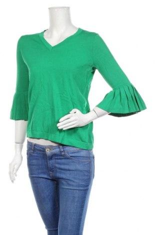 Γυναικείο πουλόβερ Kaffe, Μέγεθος M, Χρώμα Πράσινο, 65% βισκόζη, 35% πολυαμίδη, Τιμή 30,53€