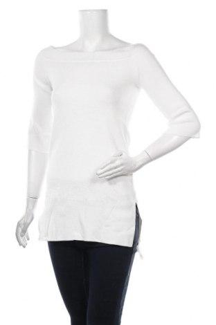 Pulover de femei Massimo Dutti, Mărime S, Culoare Alb, Preț 139,26 Lei