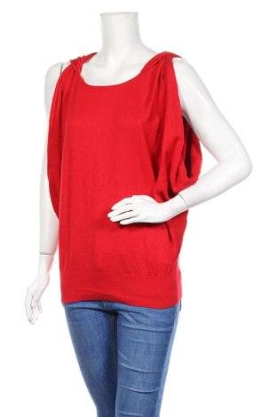 Γυναικείο πουλόβερ Miss Sixty, Μέγεθος L, Χρώμα Κόκκινο, 53% βαμβάκι, 40% βισκόζη, 7% πολυαμίδη, Τιμή 22,27€