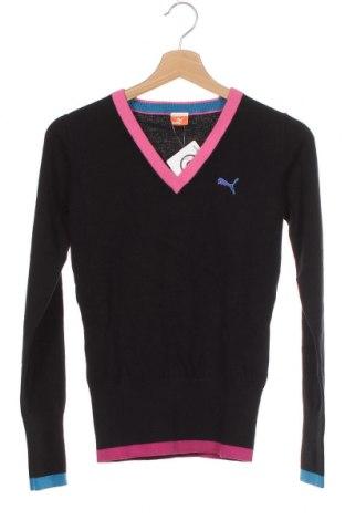 Дамски пуловер PUMA, Размер XS, Цвят Черен, Цена 64,35лв.