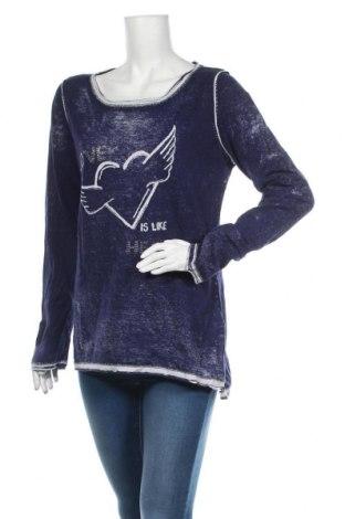 Damski sweter Street One, Rozmiar XL, Kolor Niebieski, Bawełna, Cena 69,00zł