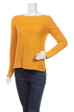 Damski sweter Tom Tailor, Rozmiar S, Kolor Żółty, Bawełna, Cena 118,00zł