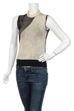 Дамски пуловер United Colors Of Benetton, Размер M, Цвят Бежов, Цена 27,30лв.