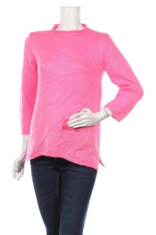 Дамски пуловер United Colors Of Benetton, Размер S, Цвят Розов, Цена 30,45лв.