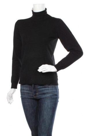 Дамски пуловер William de Faye, Размер S, Цвят Черен, 45% вискоза, 40% кашмир, 15% еластан, Цена 74,25лв.