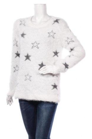 Damski sweter Yessica, Rozmiar L, Kolor Biały, Cena 84,00zł