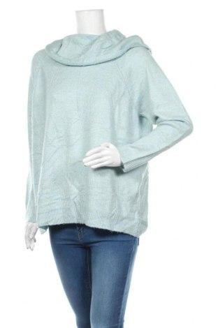 Damski sweter Yessica, Rozmiar L, Kolor Niebieski, 76%akryl, 24% poliamid, Cena 72,00zł