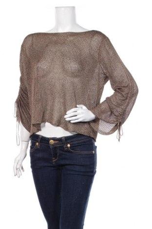 Damski sweter Zara Knitwear, Rozmiar S, Kolor Beżowy, 62% poliester, 38% wiskoza, Cena 88,80zł