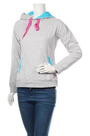 Дамски суичър Adidas, Размер L, Цвят Сив, 93% памук, 7% полиестер, Цена 35,70лв.