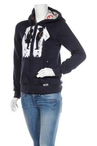 Dámská mikina  HOMEBASE, Velikost S, Barva Modrá, 65% polyester, 35% bavlna, Cena  1076,00Kč