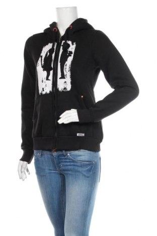 Dámská mikina  HOMEBASE, Velikost M, Barva Černá, 65% polyester, 35% bavlna, Cena  968,00Kč