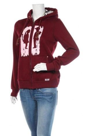 Dámská mikina  HOMEBASE, Velikost M, Barva Červená, 65% polyester, 35% bavlna, Cena  1076,00Kč
