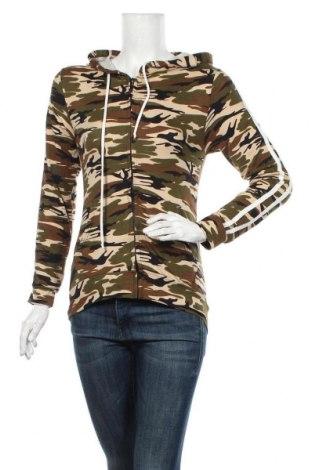 Дамски суичър Icon Apparel, Размер M, Цвят Многоцветен, 92% полиестер, 8% еластан, Цена 25,20лв.