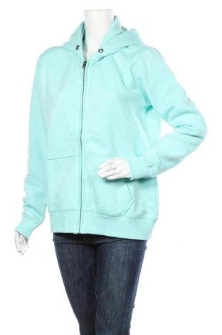 Дамски суичър MyMO, Размер XL, Цвят Син, 65% полиестер, 35% памук, Цена 34,10лв.