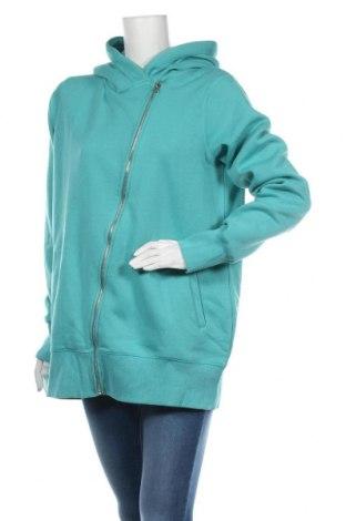 Дамски суичър MyMO, Размер XL, Цвят Син, 65% полиестер, 35% памук, Цена 43,45лв.