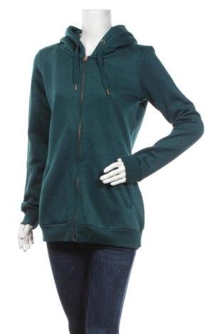 Дамски суичър MyMO, Размер S, Цвят Зелен, 65% полиестер, 35% памук, Цена 43,45лв.
