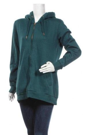 Дамски суичър MyMO, Размер L, Цвят Зелен, 65% полиестер, 35% памук, Цена 37,40лв.