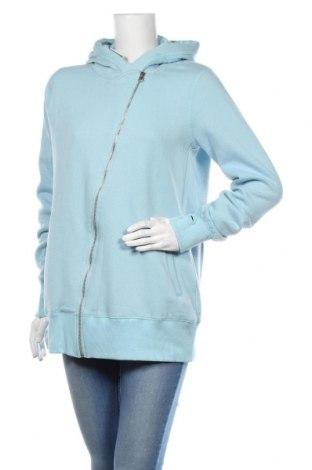 Dámská mikina  MyMO, Velikost L, Barva Modrá, 65% polyester, 35% bavlna, Cena  848,00Kč