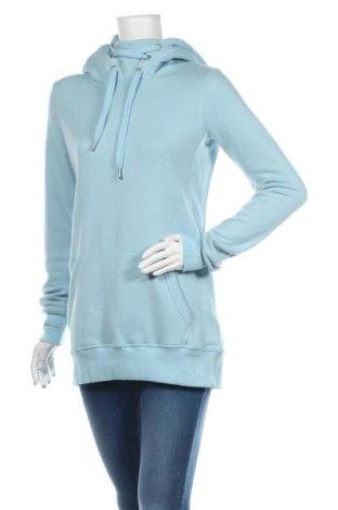 Дамски суичър MyMO, Размер XS, Цвят Син, 65% полиестер, 35% памук, Цена 58,50лв.